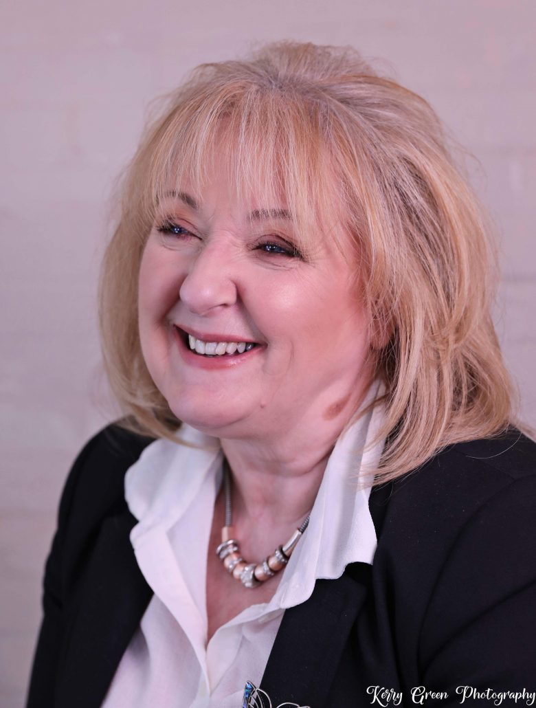 Jackie Hewitt-Main OBE, founder of The Cascade Foundation