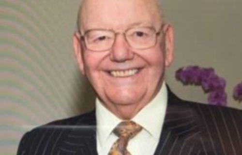 Major Stan M Hardy, Deputy Lieutenant, West Yorkshire